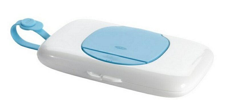 【淘氣寶寶】美國 OXO 外出濕紙巾盒 - 藍色【保證公司貨】