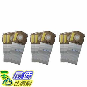 106美國直購  9 Allergen~rated Paper Vacuum Bags