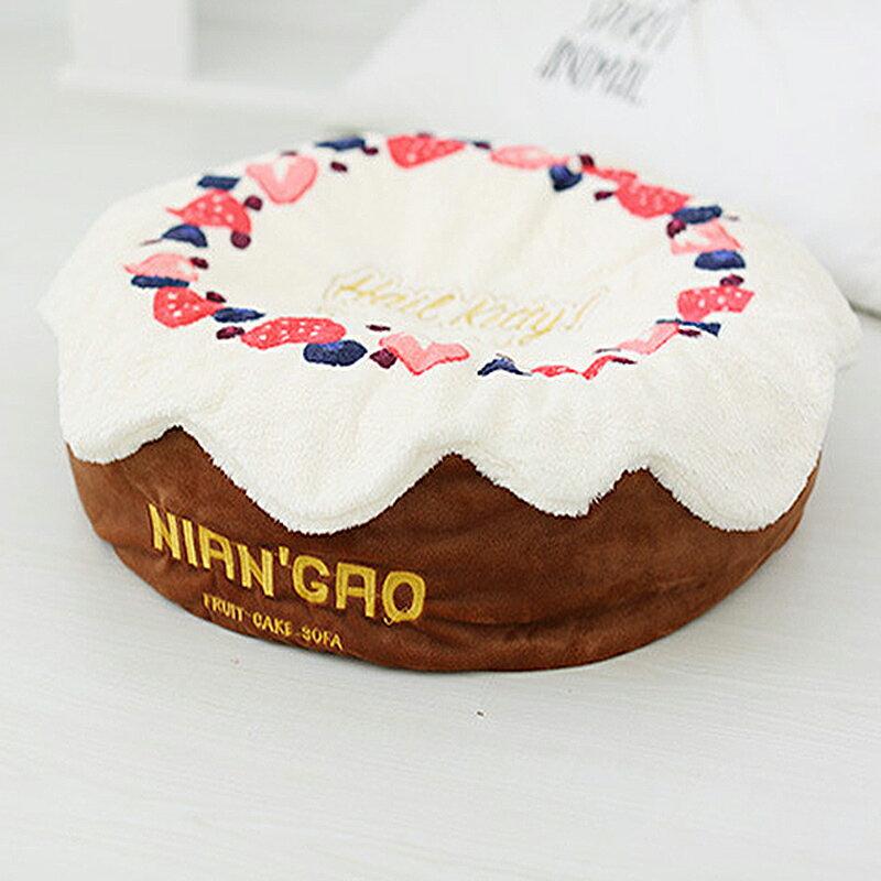 奶油蛋糕深層睡眠床(莓果粉色 / 巧克力色) 1