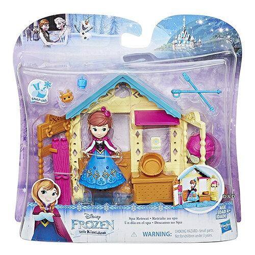 《Disney迪士尼》冰雪奇緣迷你公主及房屋-安娜