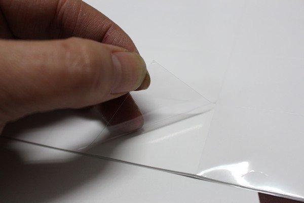 A4阿波羅透明護貝膠膜(不可列印)9812A(60 / 12)電腦標籤紙用透明標籤貼紙(圓角) / 一小包5張入(一張12小張入) { 定50 } 98mm x 44.5mm 3