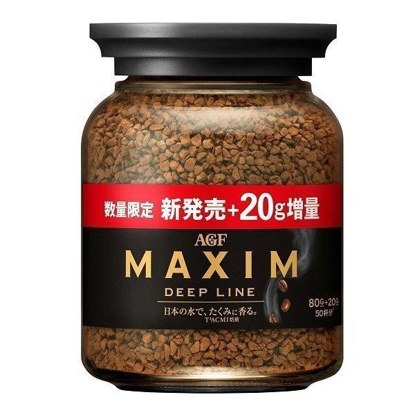 【AGF Maxim】即溶咖啡系列 濃郁深煎-玻璃罐 增量裝 100g 無糖黑咖啡 3.18-4 / 7店休 暫停出貨 0