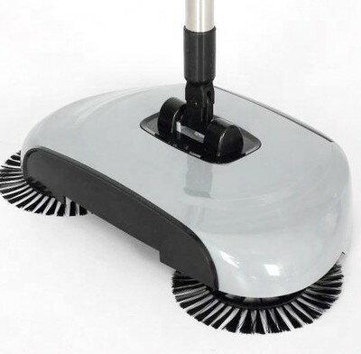 掃地機 手推式掃地機 手推式彎桿掃地機 掃把 拖把 魔法掃把 懶人拖把 畚箕垃圾倉 清潔掃除用具 掃拖吸三合一體機 免插電 免彎腰懶人掃地加拖把