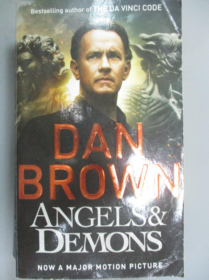【書寶二手書T8/原文小說_NON】Angels and Demons_Dan Brown