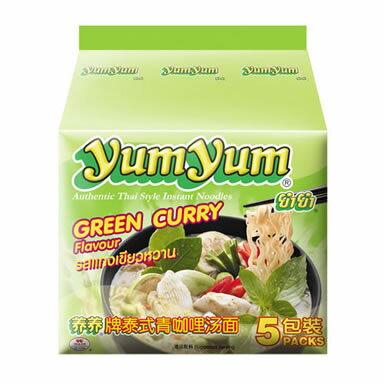 【Yum Yum養養】泰式綠咖哩湯麵(70gx5入)
