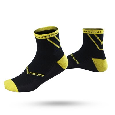 SHAPER MAN - 全方位運動襪COOL MAX - 厚款(黑)