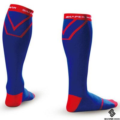 <br/><br/>  SHAPER MAN - 耐力機能壓縮長襪 (藍)<br/><br/>