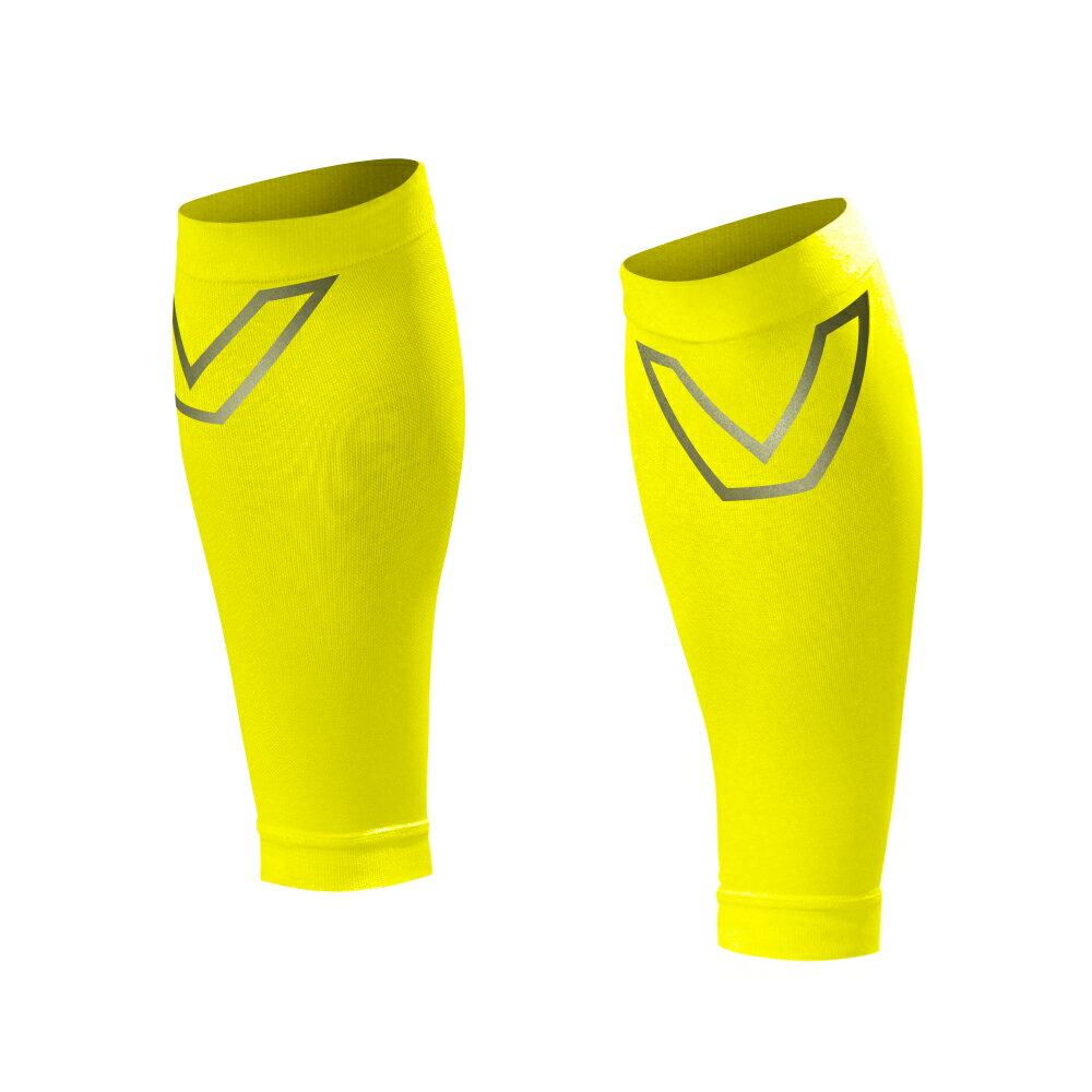 SHAPER MAN-耐力機能壓縮小腿套(螢光黃)