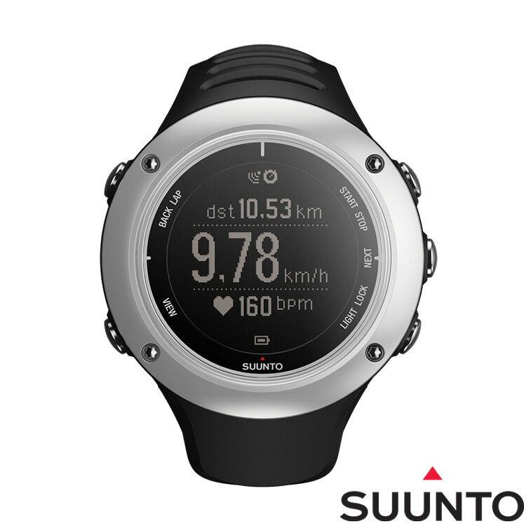 SUUNTO AMBIT2 S GPS鋁合金專業運動腕錶-銀灰
