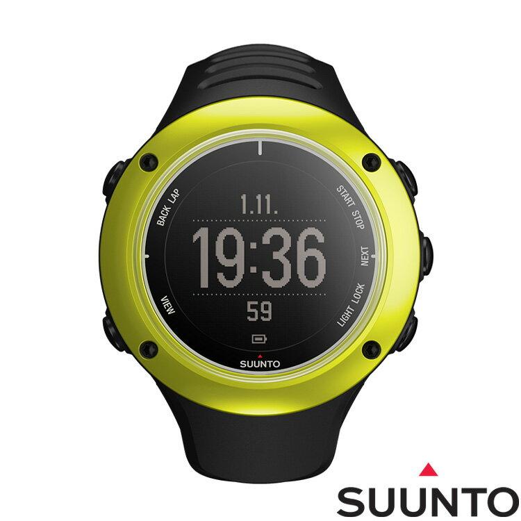 SUUNTO AMBIT2 S GPS鋁合金專業運動腕錶-黃綠