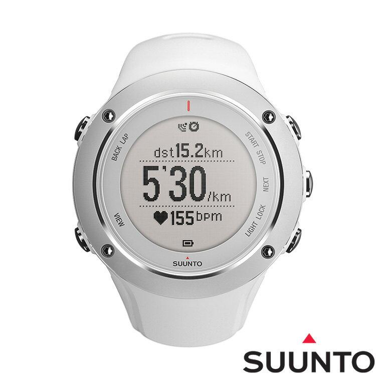 SUUNTO AMBIT2 S GPS鋁合金專業運動腕錶-白