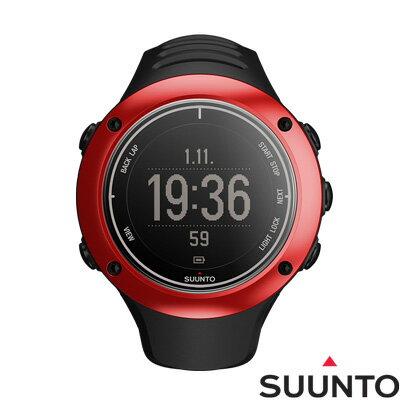 SUUNTO AMBIT2 S GPS鋁合金專業運動腕錶-紅