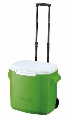 【鄉野情戶外專業】 Coleman |美國| 26L 拖輪冰桶/冰桶 保鮮桶 保冰箱-綠/CM-0491JM000