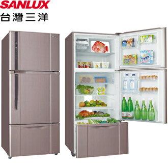 SANLUX 台灣三洋 SR-B475CV 直流變頻冰箱 175L 三門 能源效率1級 (香檳紫)