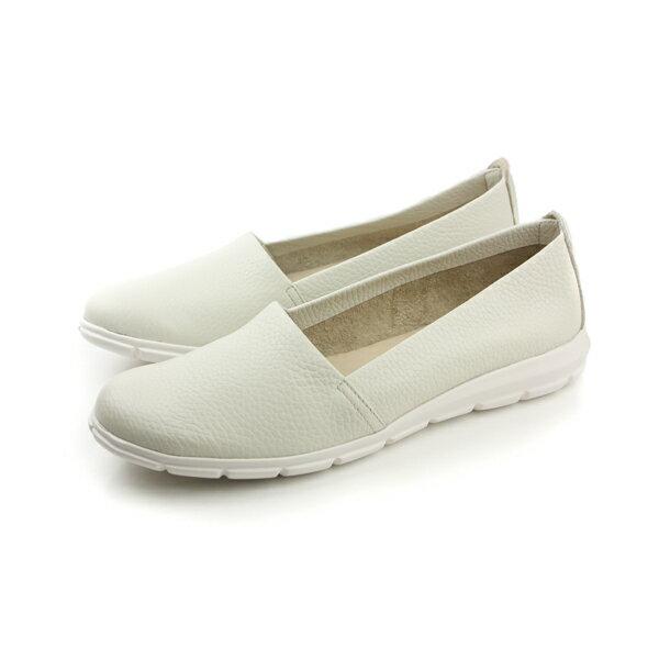 The FLEXX 平底鞋 白 女款 no062