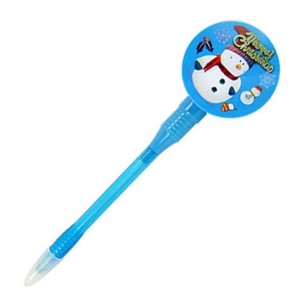 【888便利購】聖誕發條風車原子筆(超會轉)(顏色隨機)