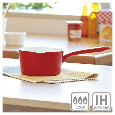IH 琺瑯鍋 lemane 15cm RE 電磁爐瓦斯爐均適用 NITORI宜得利家居