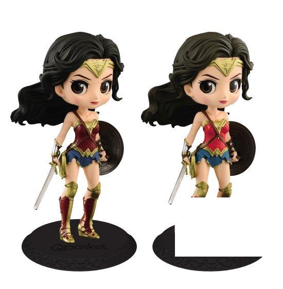 台灣代理版 Q Posket 正義聯盟 神力女超人 一套兩款 Qposket JUSTICE LEAGUE - Wonder Woman - 公仔