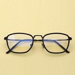 ★眼鏡框方框眼鏡鏡架-時尚百搭文藝氣質男女平光眼鏡5色73oe29【獨家進口】【米蘭精品】