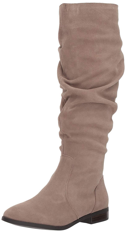 6bf79b7976656 Steve Madden Womens Beacon Leather Round Toe Mid-Calf