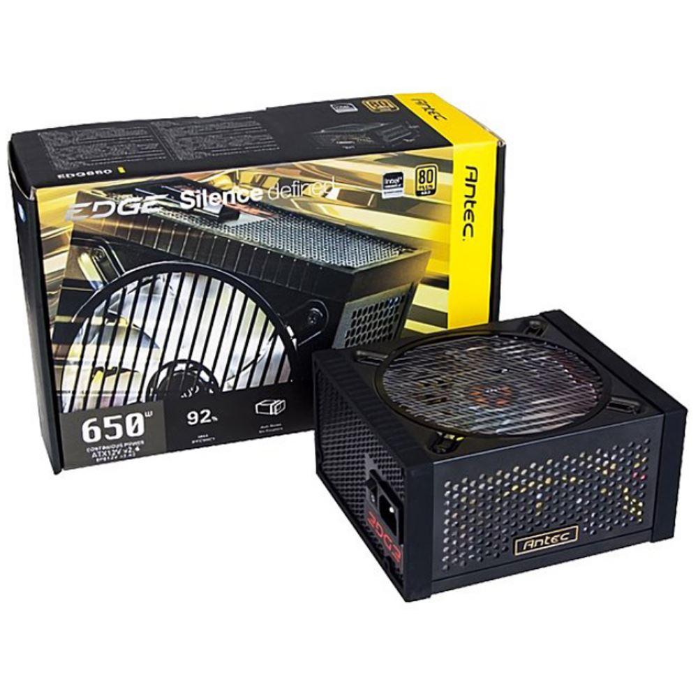 Antec 安鈦克 EDGE 650W 全模組化 金牌80+ 電源供應器【PGS指定會員★滿$1500點數最高10倍送!】
