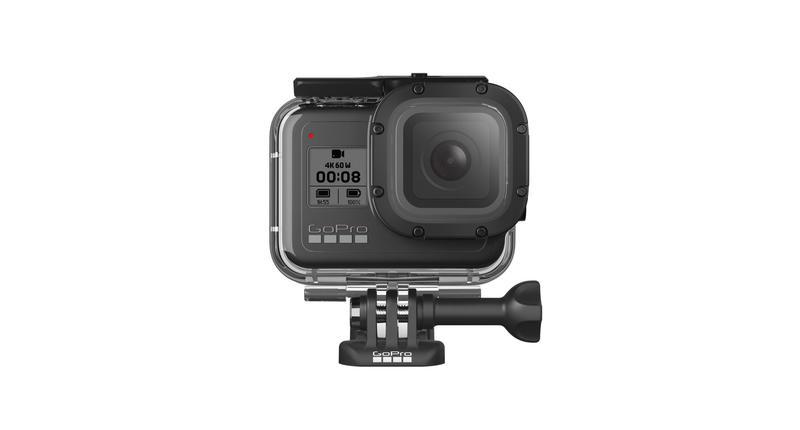 【中壢NOVA-水世界】GoPro HERO 8 BLACK【AJDIV-001 安全防護保護盒】潛水殼 防水殼 公司貨