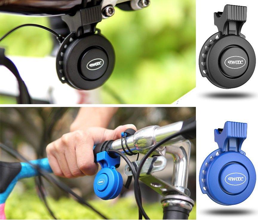《意生》電喇叭【USB充電】TWOOC 自行車電子鈴鐺 電鈴鐺 車鈴 警報聲 喇叭 警示鈴 單車電子喇叭 腳踏車電喇叭 6