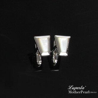 大東山珠寶 法式品味男士系列 都會紳士純銀袖扣 幾何