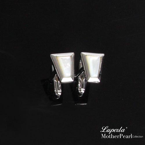 大東山珠寶 luperla:大東山珠寶法式品味男士系列都會紳士純銀袖扣幾何