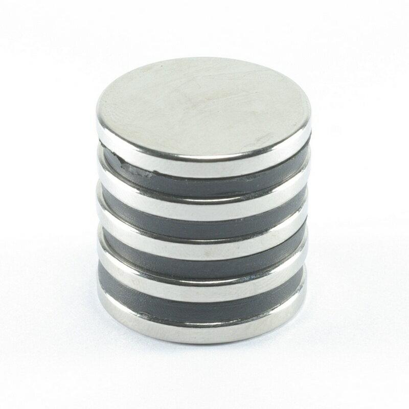 <br/><br/>  強力磁鐵釹鐵硼 圓直徑2.5公分*厚0.3公分 5個<br/><br/>
