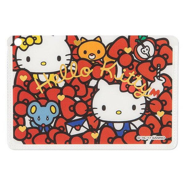 X射線【C403297】Hello Kitty 卡片套,票夾/收納包/多功能卡片套/收集冊