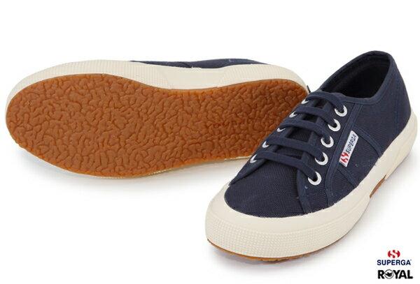 【SUPERGA】義大利國民鞋-深藍  Cotu - Classic2750 3