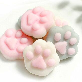 《波卡小姐》日本治癒系捏捏樂貓咪肉球玩具 紓壓療癒小物 Zakka可愛雜貨 創意小禮物 (袋裝)[PN-S014]