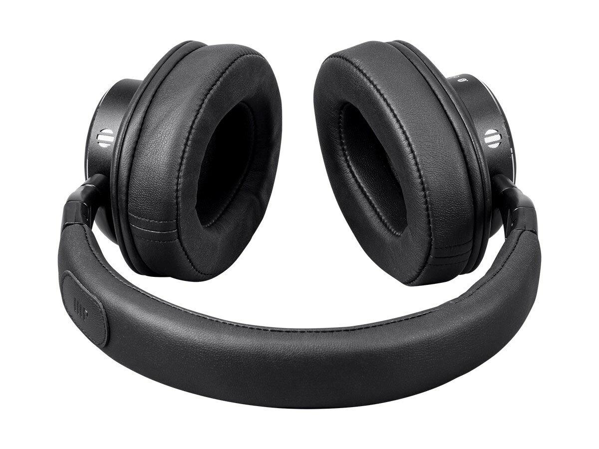 5ec1d9e0b12 Monoprice SonicSolace Active Noise Cancelling Bluetooth Wireless Headphones  - Black Over Ear Headphones 2