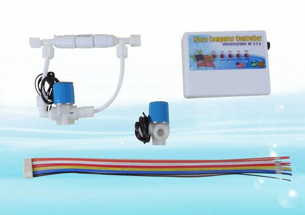 《組合》微電腦控制合組---讓你的RO逆滲透有自動沖洗的功能
