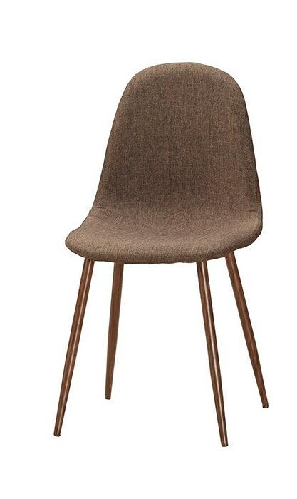 【尚品傢俱】CM-1024-15 妮莉餐椅(棕色布)