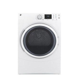 【得意家电】美国 GE 奇异 GFDN160EWW 滚筒式干衣机(电能型) (16KG) ※热线07-7428010