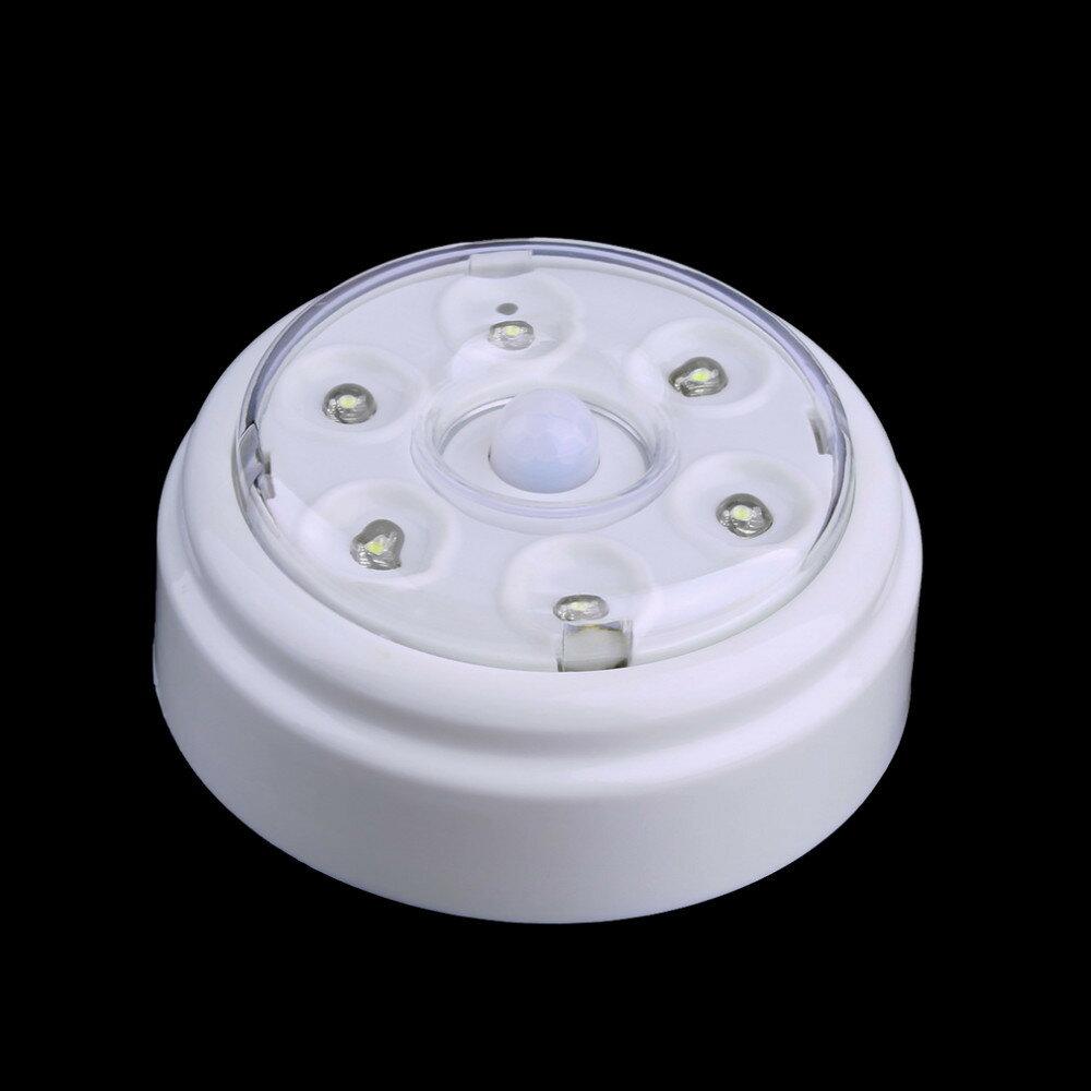 無線紅外PIR自動感應門燈 壁燈 衣櫥燈6 LED