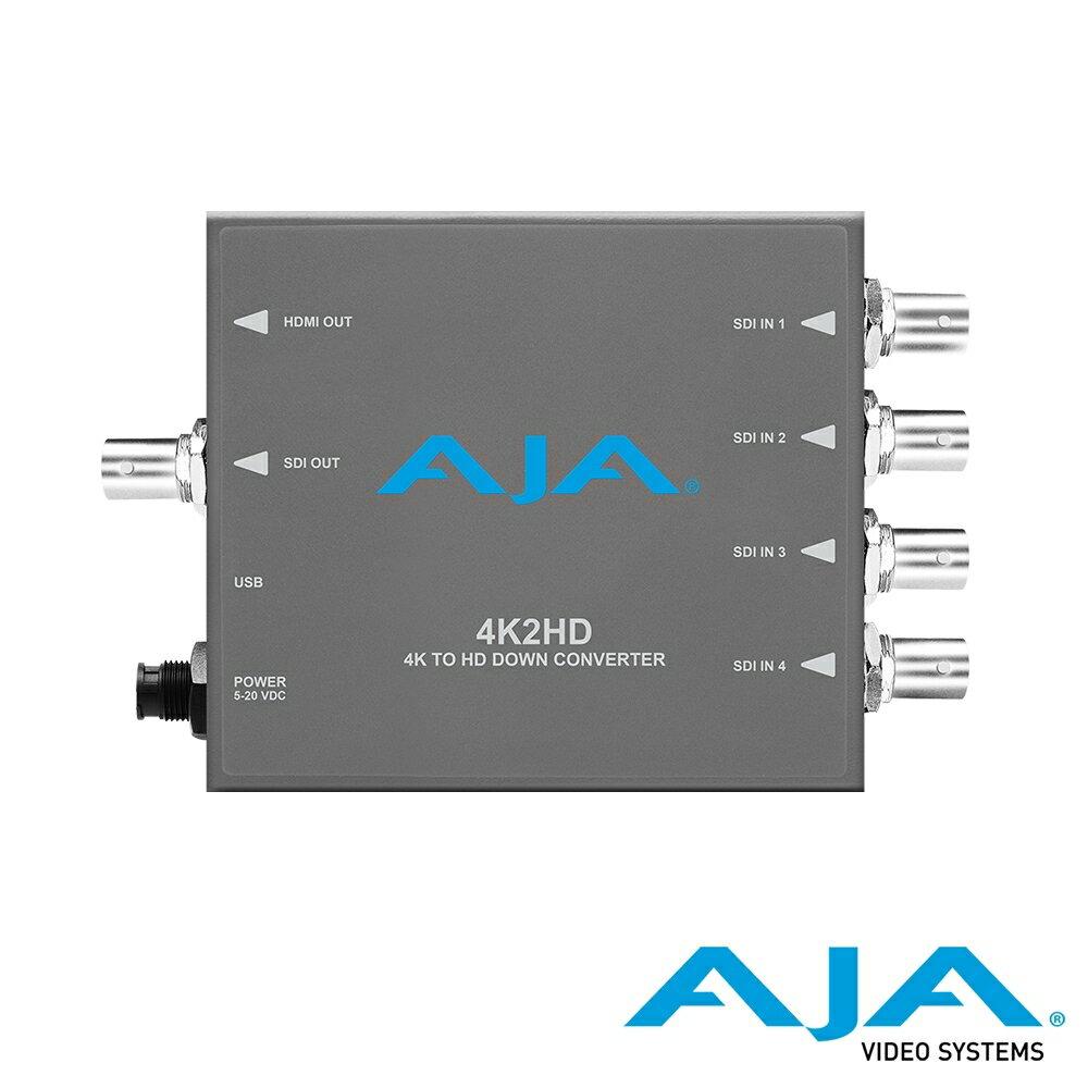 ..  AJA 4K2HD 4K/UHD 對 HD-SDI / HDMI 降轉迷你轉換器 公司貨