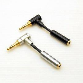 志達電子 CAB107/0.05 線長0.05M Canare L-2B2AT L型公頭轉母座 直型耳機頭轉接L型耳機頭