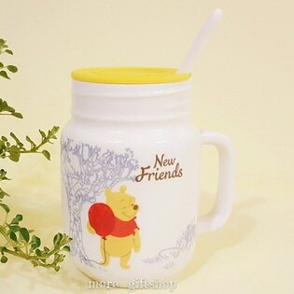 【more禮品小舖】歡樂維尼三件式杯子馬克杯牛奶杯陶瓷杯