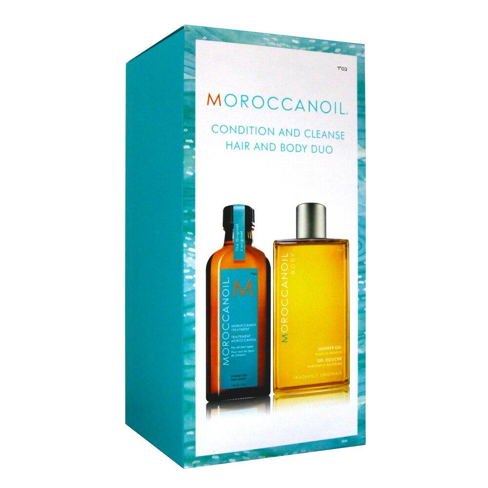 MOROCCANOIL 摩洛哥優油經典沐浴膠組 #40301