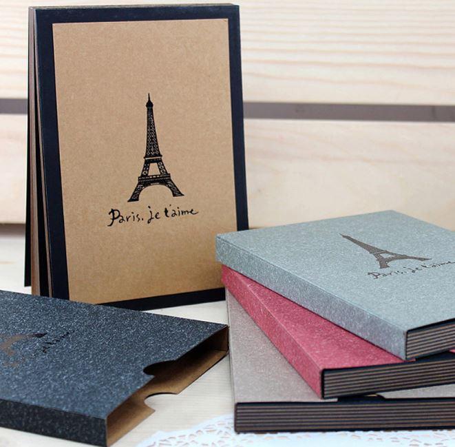 韓國創意角貼A5鐵塔手工自製DIY相冊 99元 - 限時優惠好康折扣