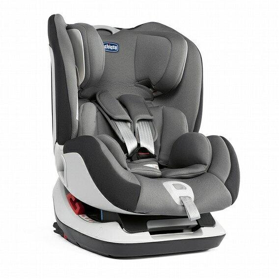 Chicco Seat Up 012 isofix 安全汽座 煙燻灰【限時加贈 品牌汽座保護墊】●義大利品牌●隋棠代言●汽車安全座椅