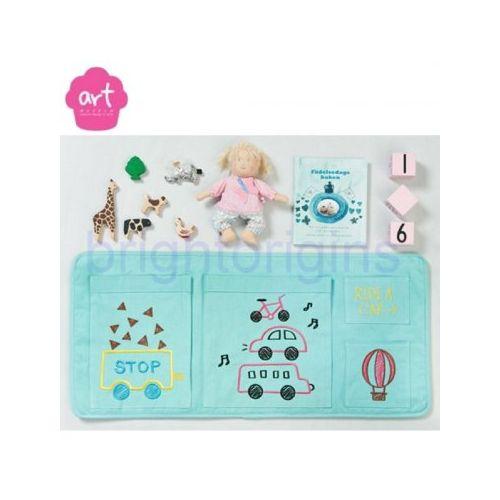 Baby muffin ART Muffin Beside Pocket 床邊收納袋(水藍色)★衛立兒 館★