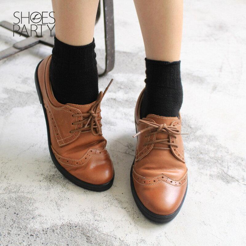 【F2-17711L】內外全真皮牛津休閒鞋_Shoes Party 1