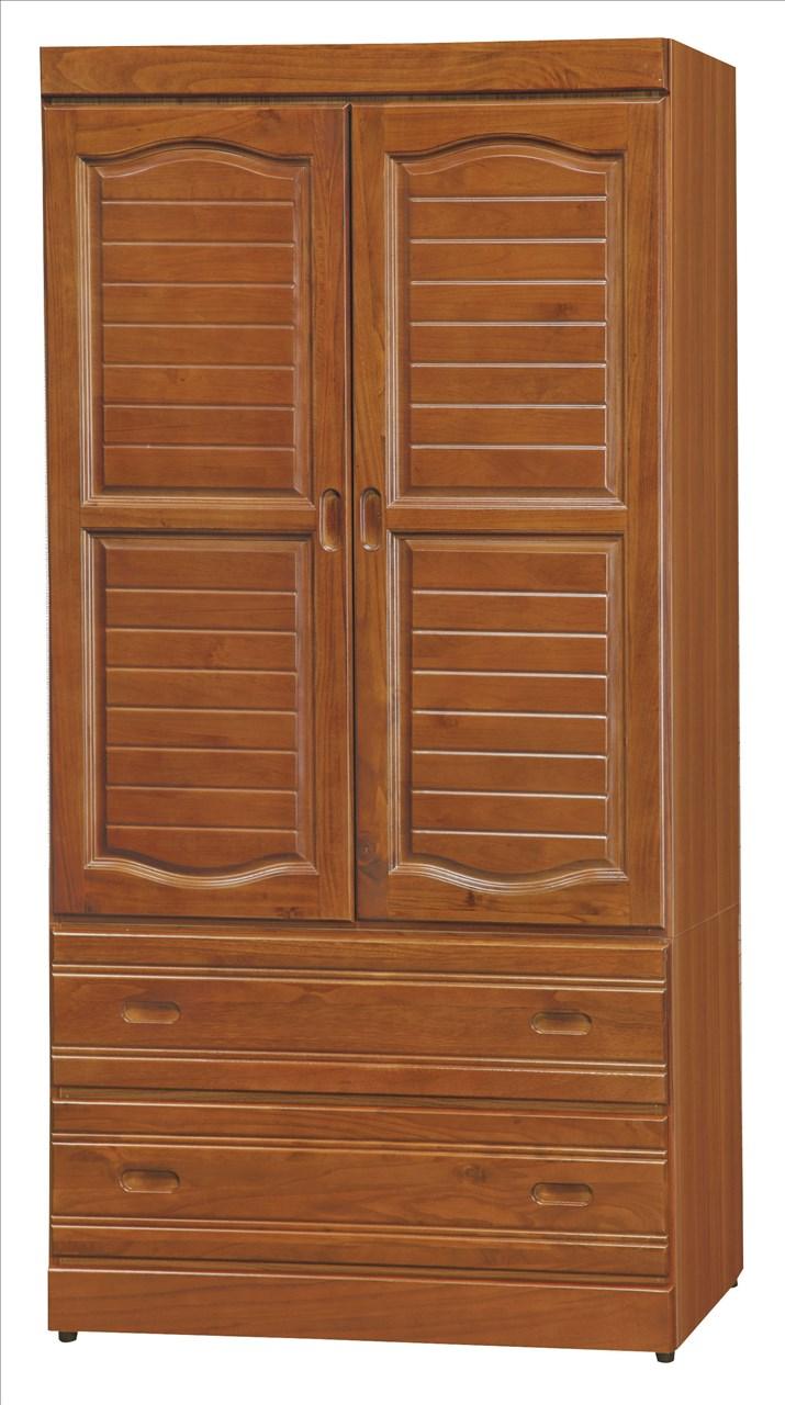 【石川家居】EF-127-6 富丞樟木色3*6尺衣櫃 (不含其他商品) 需搭配車趟