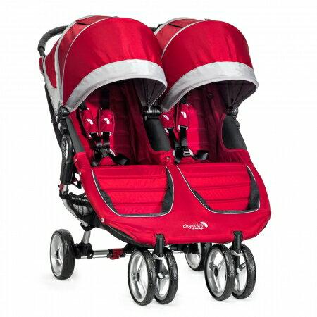 美國【Baby Jogger】Double雙人推車(紅) 0
