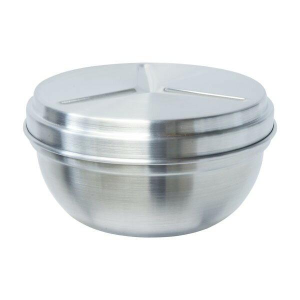 PERFECT極緻316不銹鋼雙層碗14cm【附蓋可當菜層】台灣製造醫療級不鏽鋼隔熱碗 便當盒兒童碗