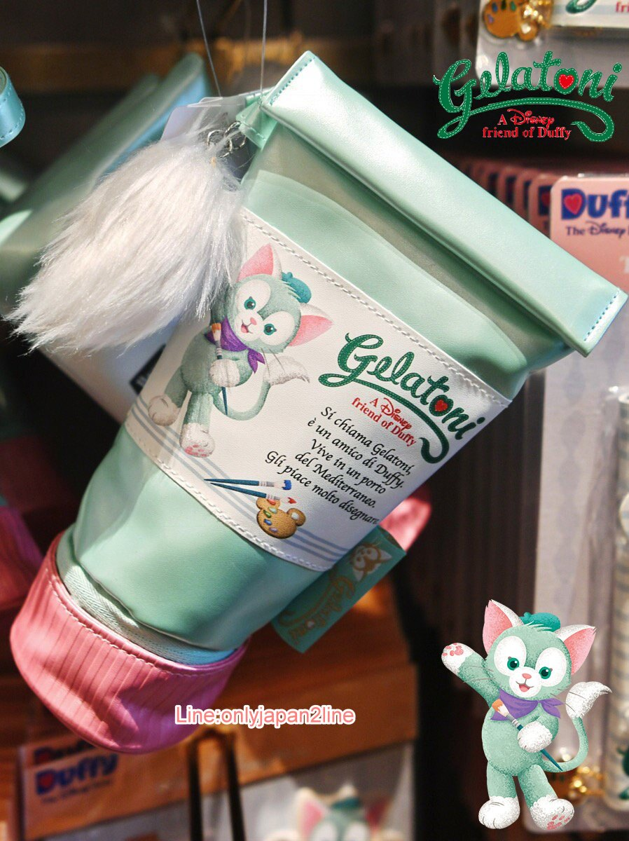 【真愛日本】經典顏料造型直筆袋-傑立東尼CAA 傑拉東尼 畫家貓 雪莉玫 Duffy 達菲熊&ShellieMay